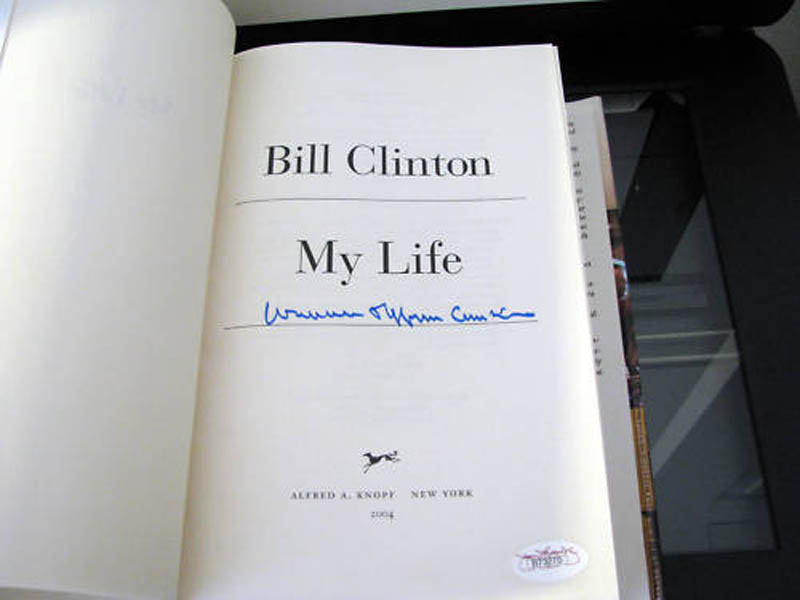 Image 4 for President William J. 'Bill' Clinton - Book Signed - HFSID 286584