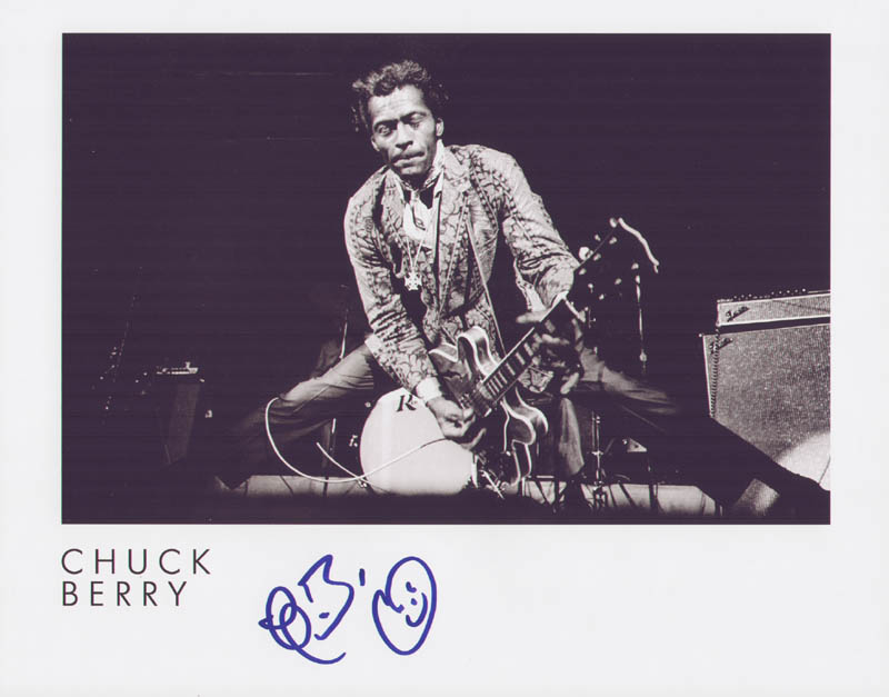 Image 1 for Chuck Berry - Autographed Signed Photograph - HFSID 286594