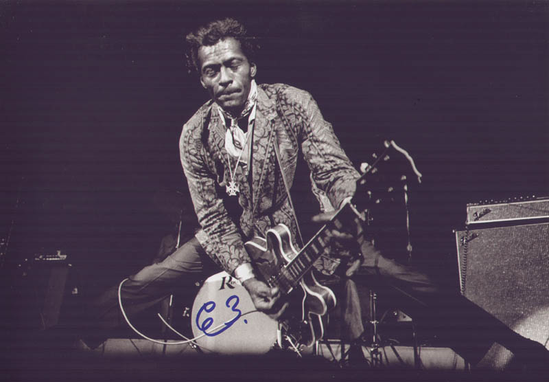 Image 1 for Chuck Berry - Autographed Signed Photograph - HFSID 286595
