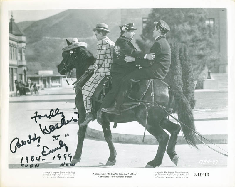 Image 1 for Buddy Hackett - Autographed Inscribed Photograph 1999 - HFSID 286638