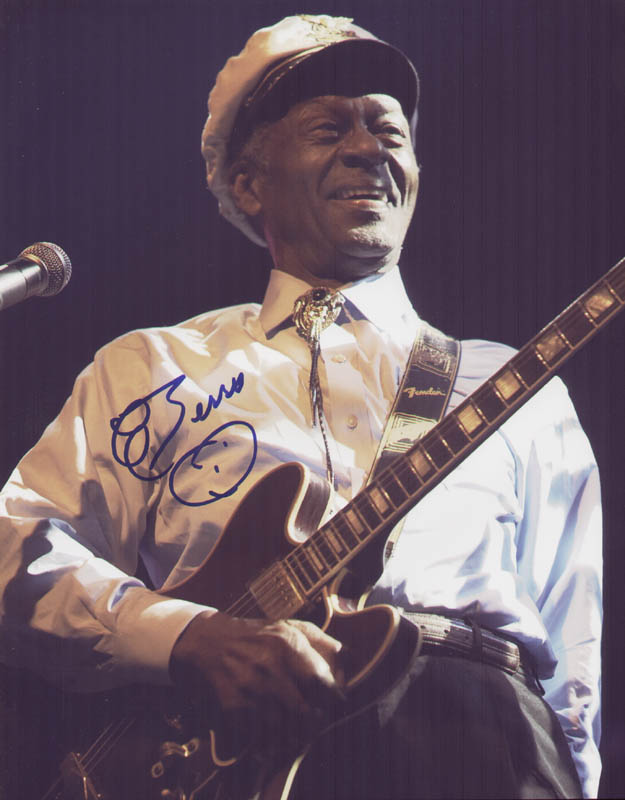 Image 1 for Chuck Berry - Autographed Signed Photograph - HFSID 286663