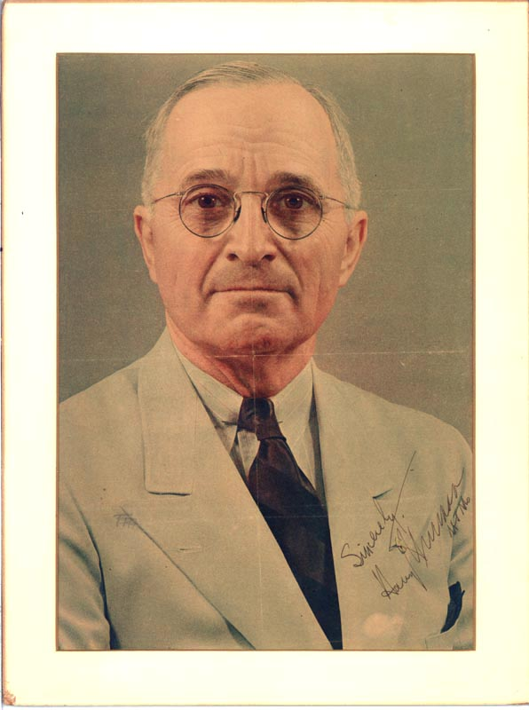 Image 1 for President Harry S Truman - Magazine Photograph Signed - HFSID 28675