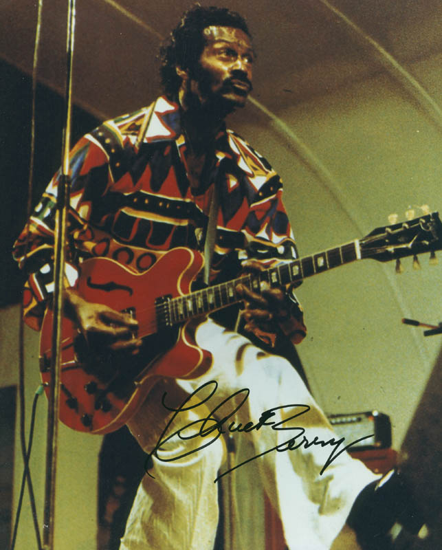 Image 1 for Chuck Berry - Autographed Signed Photograph - HFSID 286808