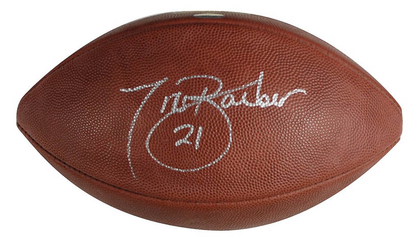 Image 1 for Tiki Barber - Football Signed - HFSID 286868