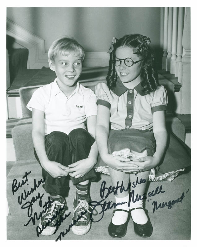 Image 1 for Dennis The Menace TV Cast - Autographed Signed Photograph co-signed by: Jay North, Jeanne Russell - HFSID 286926