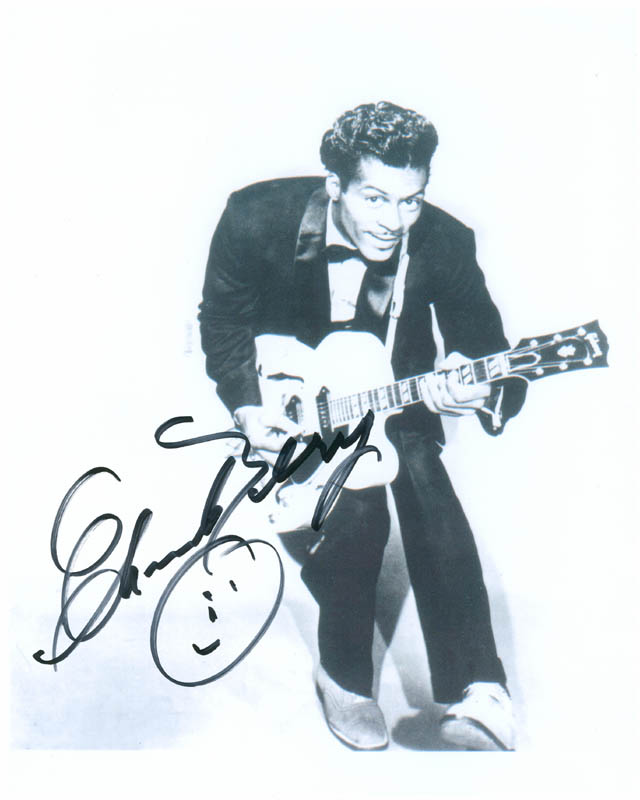 Image 1 for Chuck Berry - Autographed Signed Photograph - HFSID 286930