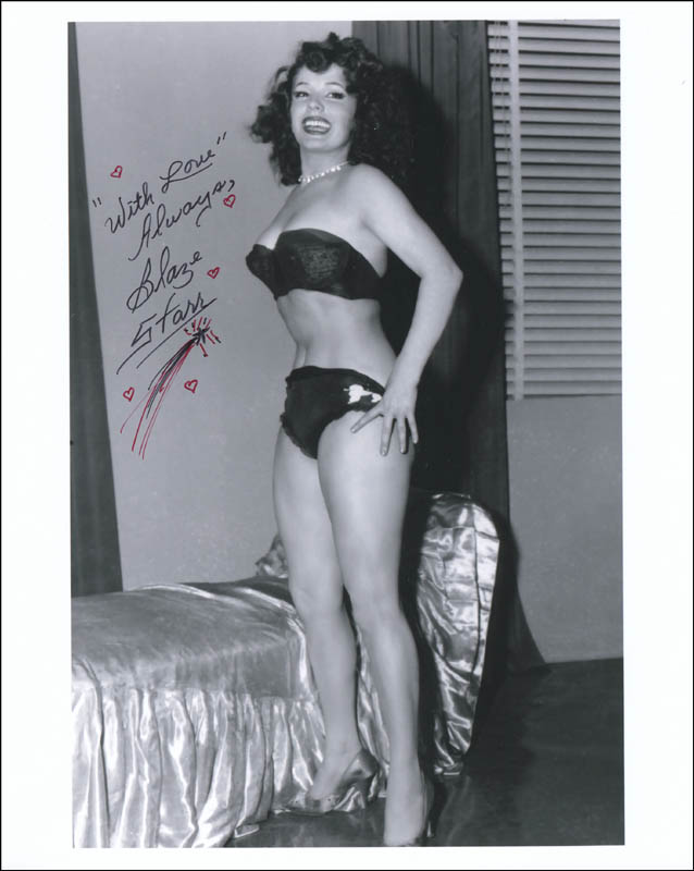Image 1 for Blaze Starr - Autographed Signed Photograph - HFSID 286960