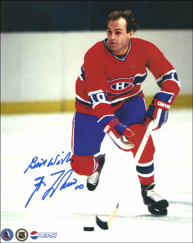 half off 8db45 84aff Guy Lafleur - Autographed Inscribed Photograph ...