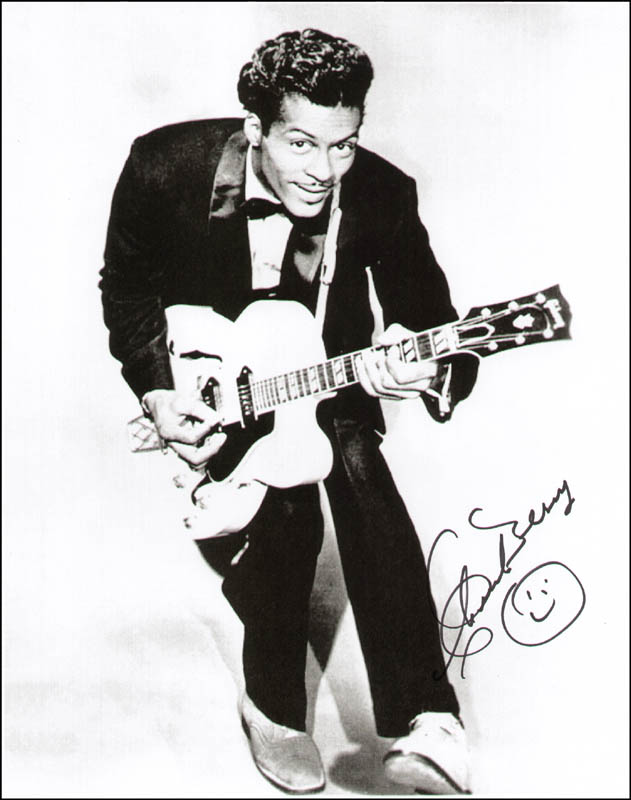 Image 1 for Chuck Berry - Autographed Signed Photograph - HFSID 287324