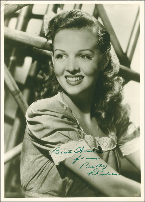 Image 1 for Betty Jane Rhodes - Autographed Signed Photograph - HFSID 287415