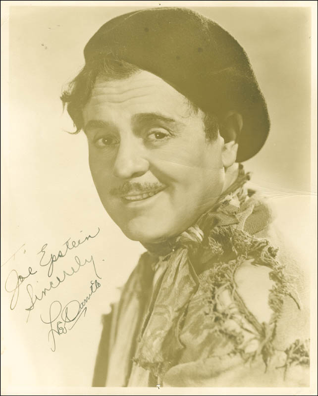 Image 1 for Leo 'Pancho' Carrillo - Autographed Inscribed Photograph - HFSID 287468