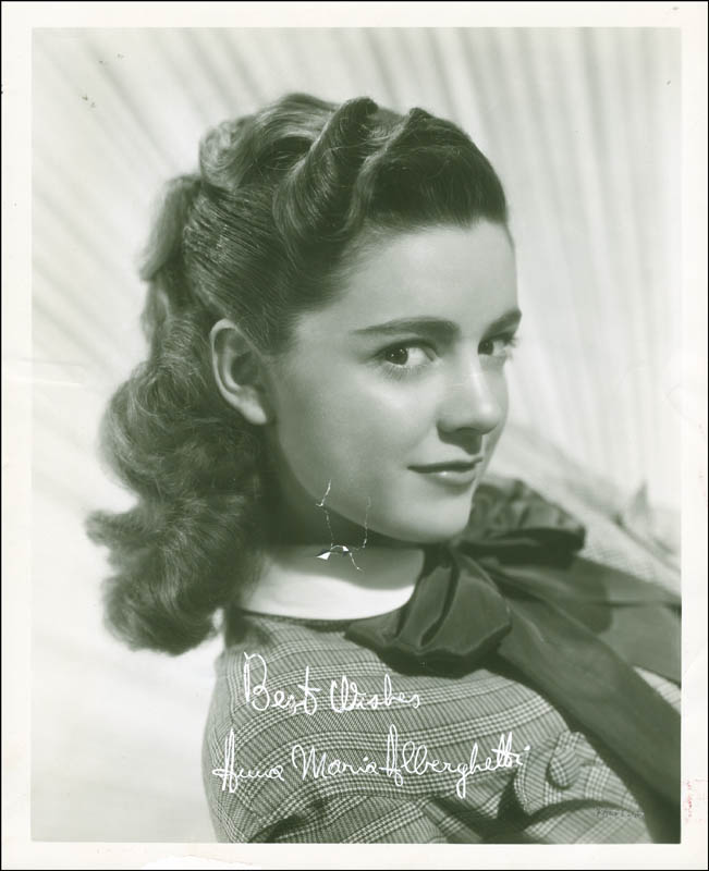 Image 1 for Anna Maria Alberghetti - Autographed Signed Photograph - HFSID 287484