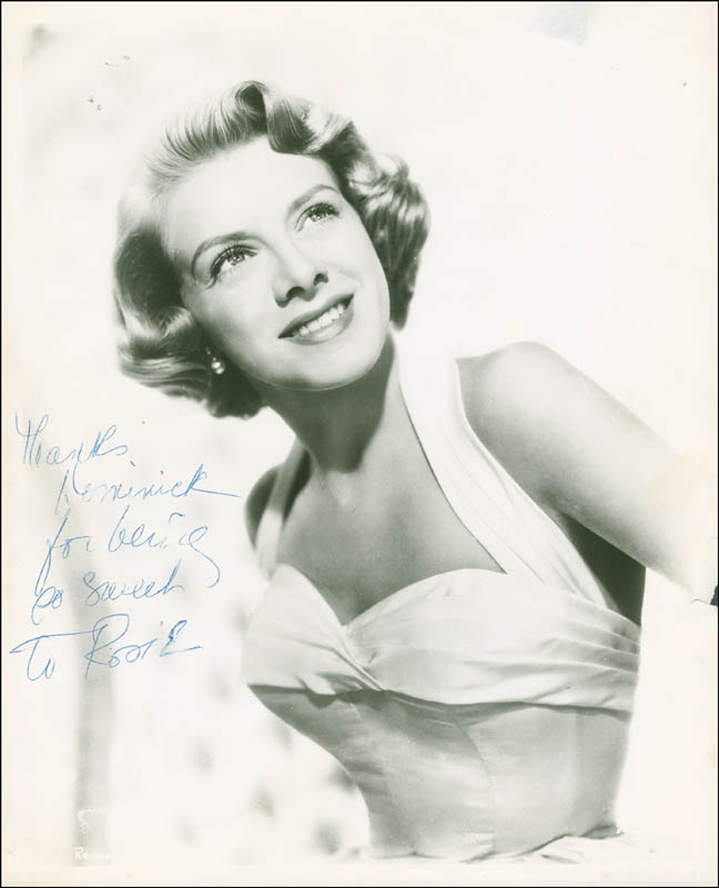 Image 1 for Rosemary Clooney - Autographed Inscribed Photograph - HFSID 287495