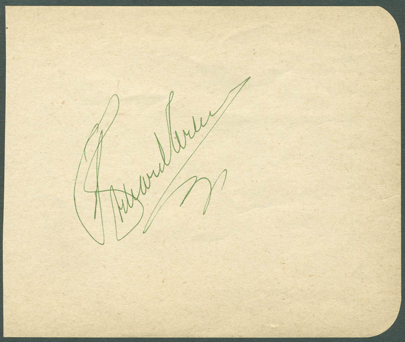 Image 1 for Richard Arlen - Autograph - HFSID 287533