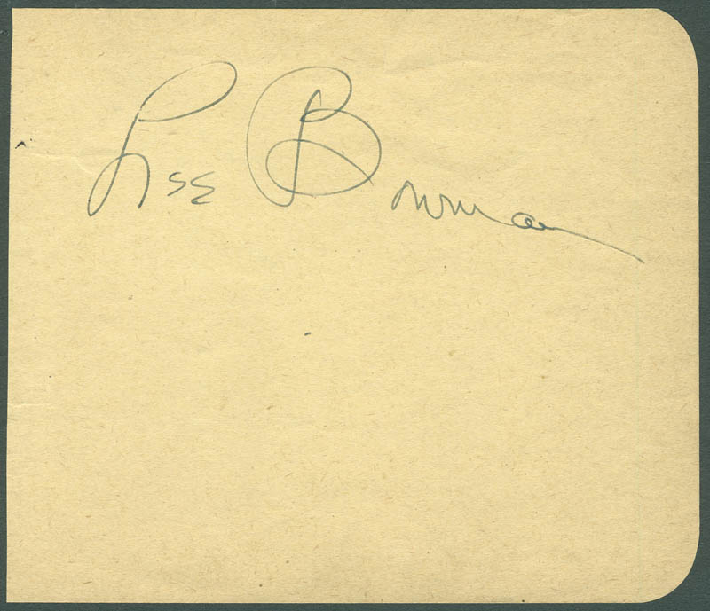 Image 1 for Lee Bowman - Autograph - HFSID 287535