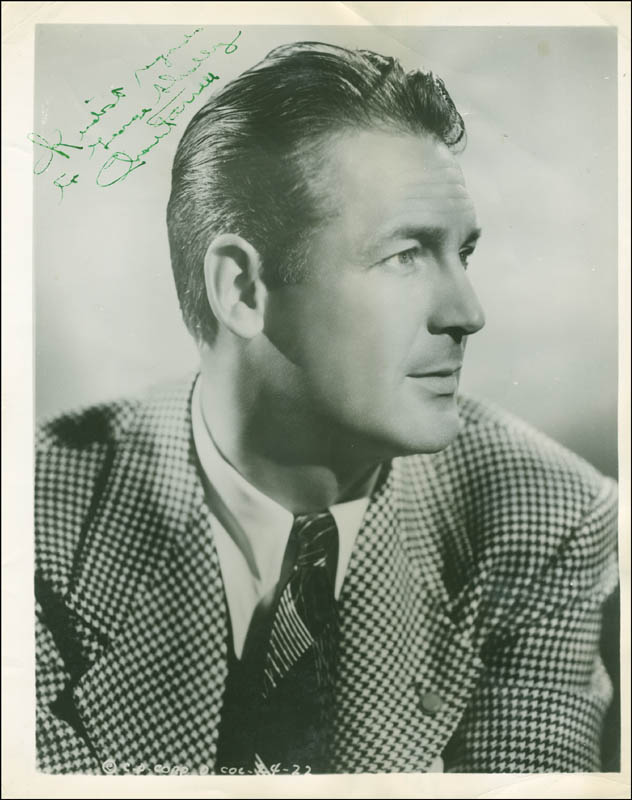 Image 1 for Charles Farrell - Autographed Inscribed Photograph - HFSID 287559