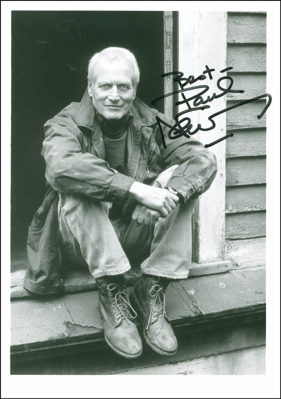 Image 1 for Paul Newman - Autographed Signed Photograph - HFSID 287703