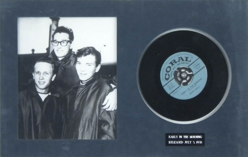 Image 1 for Buddy Holly - Record Unsigned - HFSID 287706
