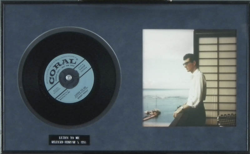 Image 1 for Buddy Holly - Record Unsigned - HFSID 287707