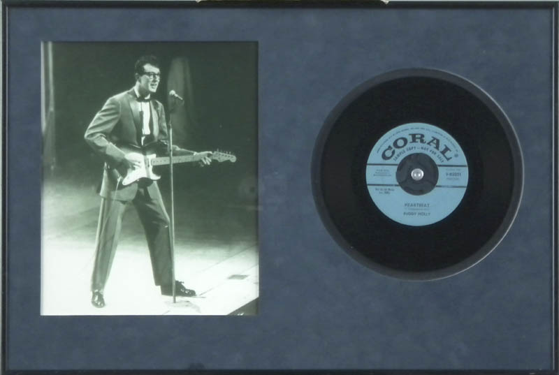 Image 1 for Buddy Holly - Record Unsigned - HFSID 287708