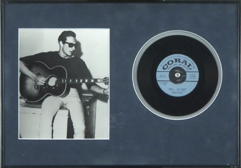 Image 1 for Buddy Holly - Record Unsigned - HFSID 287709