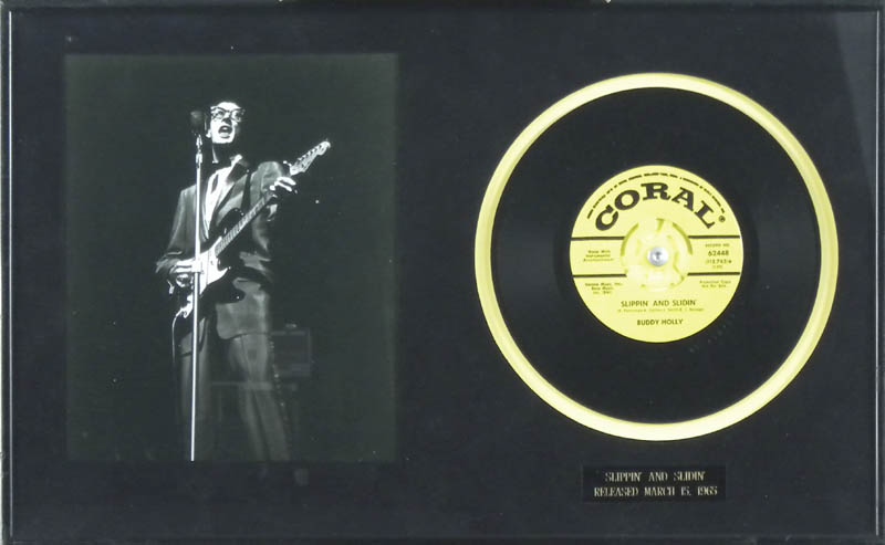 Image 1 for Buddy Holly - Record Unsigned - HFSID 287710