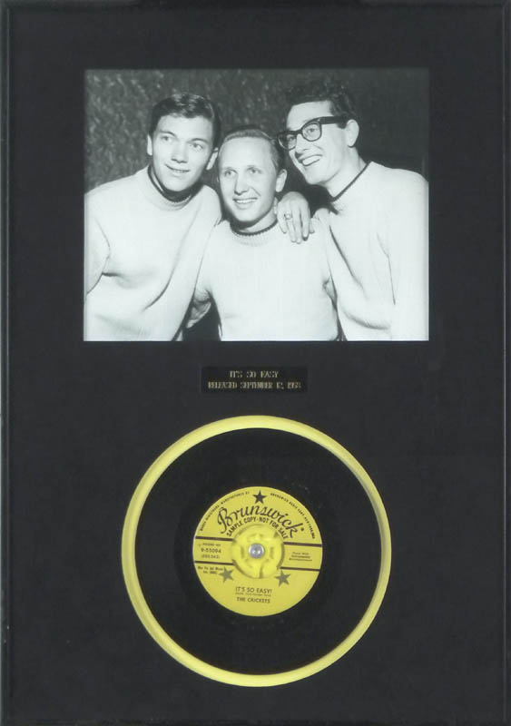 Image 1 for Buddy Holly - Record Unsigned - HFSID 287712