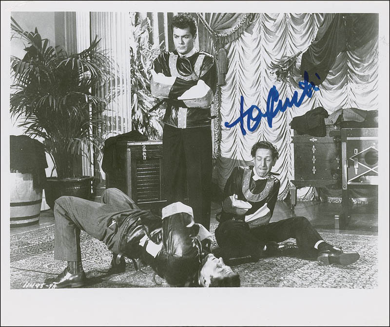 Image 1 for Tony Curtis - Autographed Signed Photograph - HFSID 287731