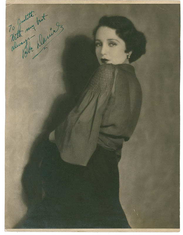 Image 1 for Bebe Daniels - Autographed Inscribed Photograph - HFSID 287739