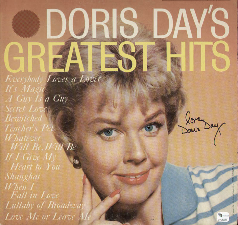 Image 1 for Doris Day - Record Album Cover Signed - HFSID 287750