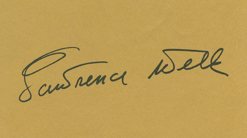 Image 1 for Lawrence Welk - Autograph - HFSID 288133