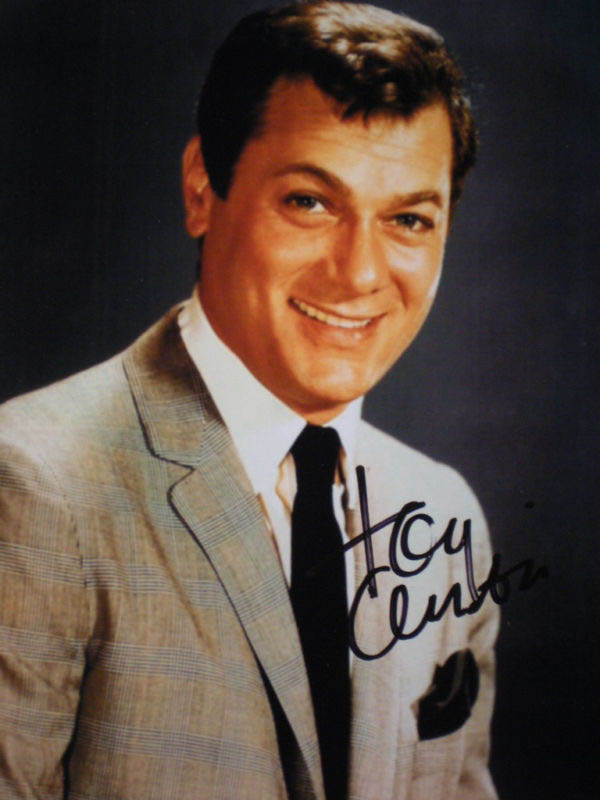 Image 1 for Tony Curtis - Autographed Signed Photograph - HFSID 288140