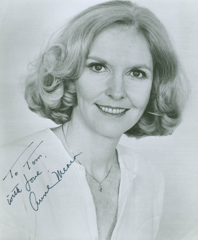 Image 1 for Anne Meara - Autographed Inscribed Photograph - HFSID 288256