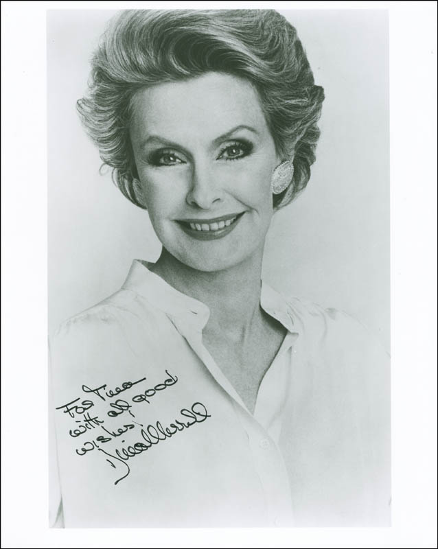 Image 1 for Dina Merrill - Autographed Inscribed Photograph - HFSID 288257