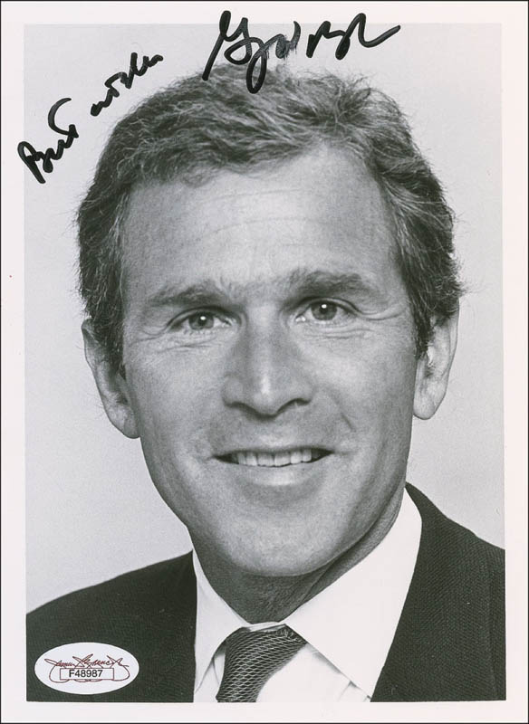 Image 1 for President George W. Bush - Autographed Signed Photograph - HFSID 288367