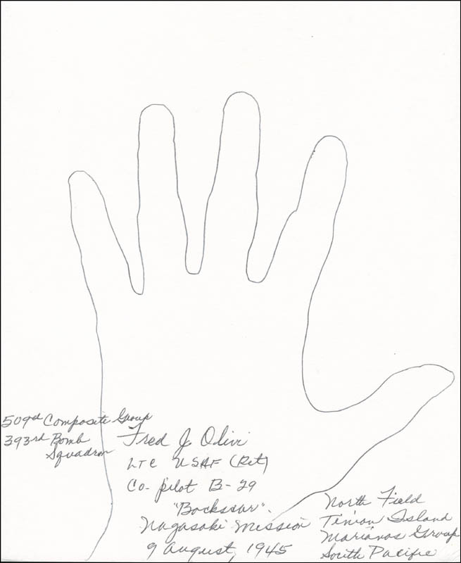 Image 1 for Bock'S Car Crew (Fred Olivi) - Hand/Foot Print Or Sketch Signed - HFSID 288389