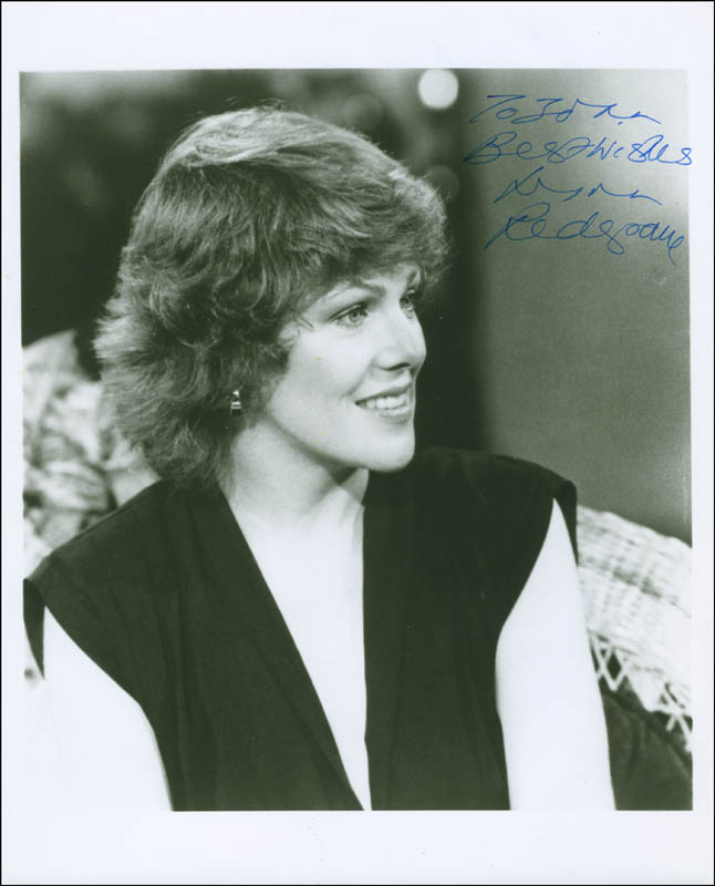 Image 1 for Lynn Redgrave - Autographed Inscribed Photograph - HFSID 288440