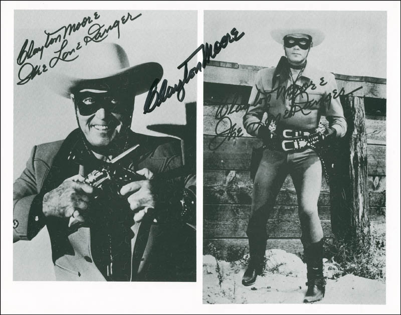Image 1 for Clayton 'The Lone Ranger' Moore - Autographed Signed Photograph - HFSID 288448