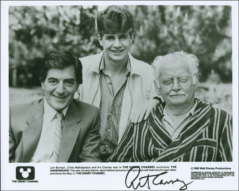 Image 1 for Art Carney - Autographed Signed Photograph - HFSID 288453