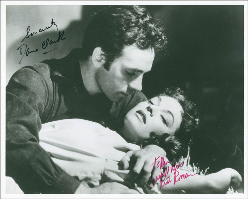 Image 1 for Barricade Movie Cast - Autographed Inscribed Photograph co-signed by: Dane Clark, Ruth Roman - HFSID 288458