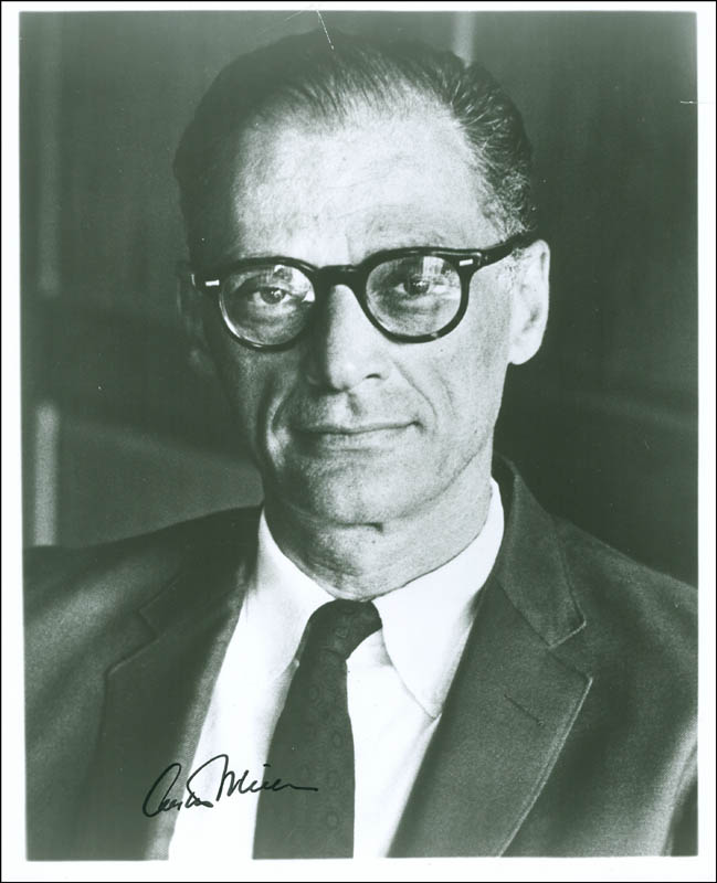 Image 1 for Arthur Miller - Autographed Signed Photograph - HFSID 288521