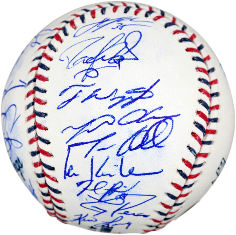 Image 4 for 2010 American League All Star Team - Autographed Signed Baseball with co-signers - HFSID 288566