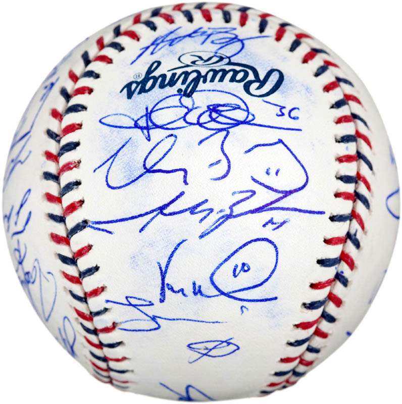 Image 5 for 2010 American League All Star Team - Autographed Signed Baseball with co-signers - HFSID 288566