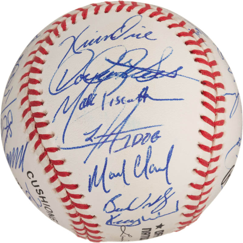 Image 3 for The Chicago Cubs - Autographed Signed Baseball with co-signers - HFSID 288573