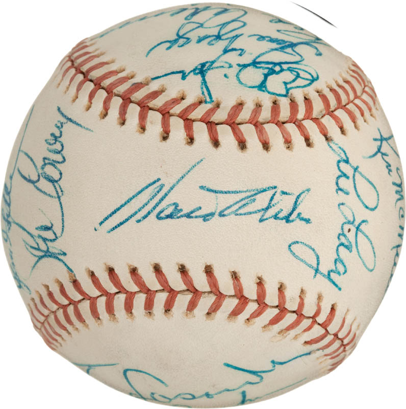 Image 1 for The Los Angeles Dodgers - Autographed Signed Baseball with co-signers - HFSID 288574