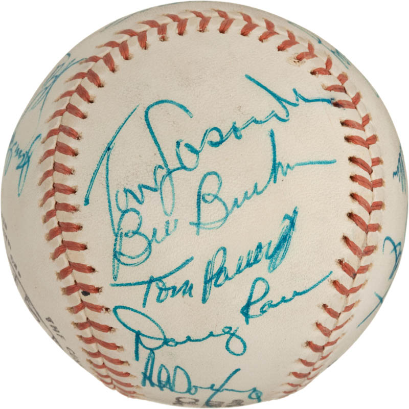 Image 4 for The Los Angeles Dodgers - Autographed Signed Baseball with co-signers - HFSID 288574