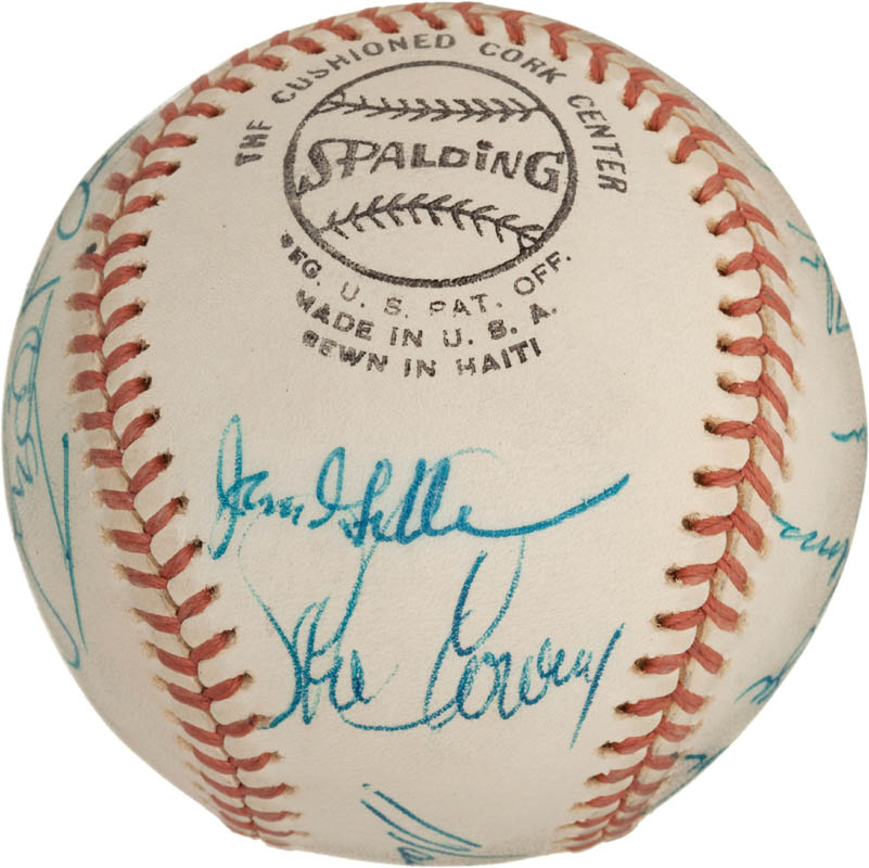 Image 5 for The Los Angeles Dodgers - Autographed Signed Baseball with co-signers - HFSID 288574