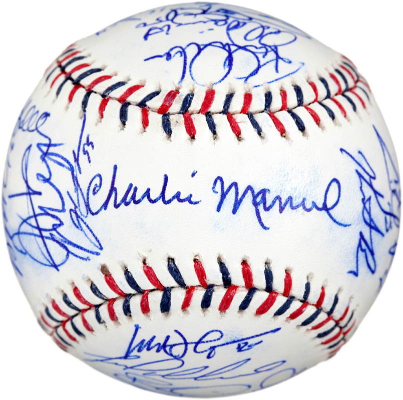 Image 1 for 2010 National League All Star Team - Autographed Signed Baseball with co-signers - HFSID 288577