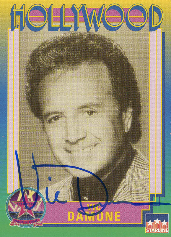 Image 1 for Vic Damone - Trading/Sports Card Signed - HFSID 288589