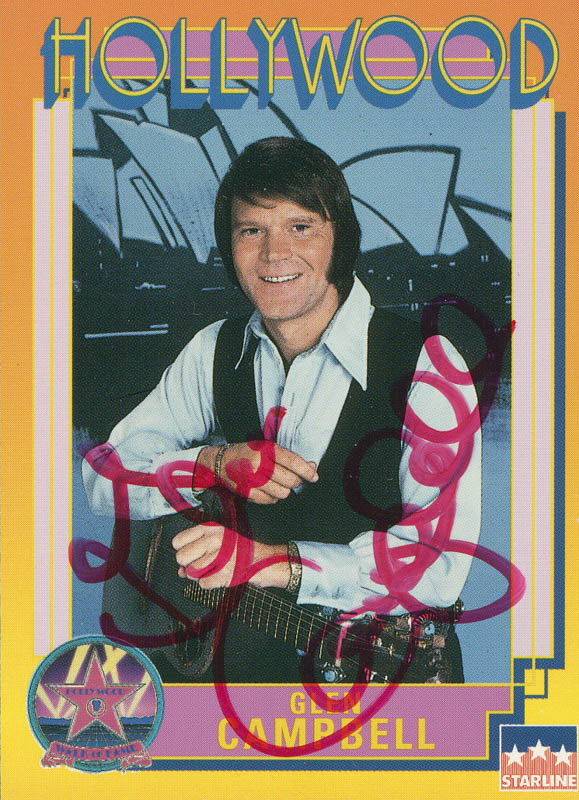 Image 1 for Glen Campbell - Trading/Sports Card Signed - HFSID 288596
